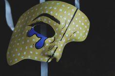 Mască pentru jumătate de față - Halloween | Denisa Sima M.