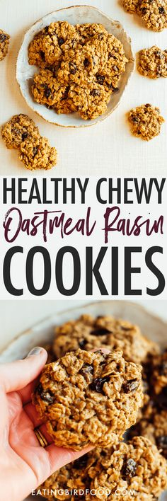 Made with oats and oat flour, these chewy oatmeal raisin cookies are absolutely delicious and so easy to whip up! Naturally gluten-free.