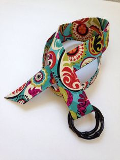 1 1/2 wide patterned fabric belt by MBPDesign on Etsy