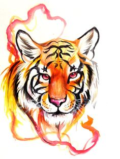 Tiger Design by Lucky978.deviantart.com on @deviantART