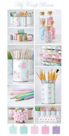 Organizing my craft room