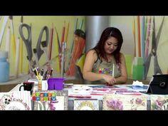 Ateliê na TV - TV Gazeta - 12.02.16 - Mayumi Takushi - YouTube