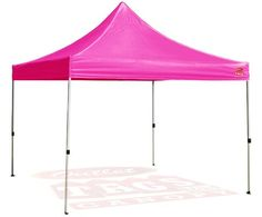 Outlet Tags Canopy  10ftX10ft PopUp Tent for Vendors BBQ Sun Shelter Sports Teams Outdoor Events  PINK * You can find out more details at the link of the image.(This is an Amazon affiliate link)
