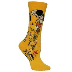 Cotton Crew Socks Art Print/Pattern - Unisex
