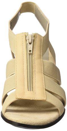 6517361fbd76 Aerosoles A2 by Womens Grand Canyon Dress Sandal Bone 11 M US -- Want  additional