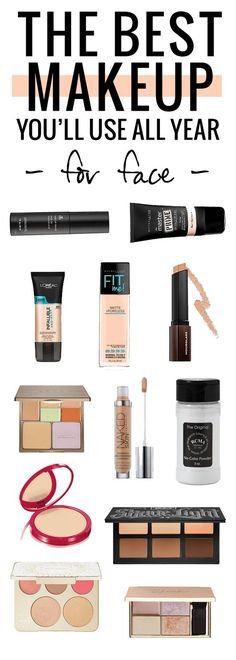 The best makeup products of the year - for face!