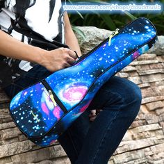 Blink 182 Backpack Fashion School Backpack Star Sky Blue