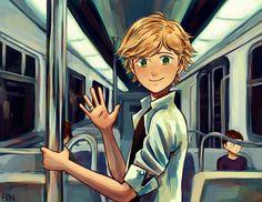 subway run-in by Fenori on DeviantArt