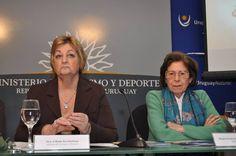 Ministra de Turismo y Deporte, Directora del Hotel