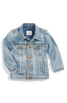 Peek+'Janis'+Denim+Jacket+(Baby+Girls)+available+at+#Nordstrom