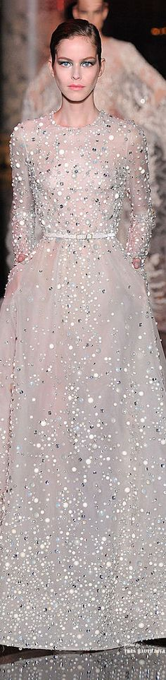 Elie Saab Haute Couture Fall 2014 #mindfashions #mindstyles