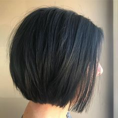 60 Layered Bob Styles: Modern Haircuts with Layers for Any Occasion - Brunette Layered Bob Without Bangs - Modern Haircuts, Modern Hairstyles, Short Bob Hairstyles, Hairstyles Haircuts, Japanese Hairstyles, Asian Hairstyles, Modern Bob Haircut, Wedding Hairstyles, Teenage Hairstyles