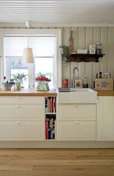 Best Simple Kitchen Designs Ideas for Small House Decoration Cocina Office, Simple Kitchen Design, Cocinas Kitchen, Ikea, Shabby Chic Kitchen, Luxury Interior Design, New Kitchen, Kitchen Reno, Room Kitchen