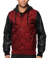 Empyre Kai Hooded Varsity Jacket