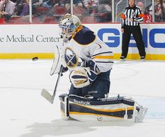 Enroth Starts, Cramps Up, Lose 3-2
