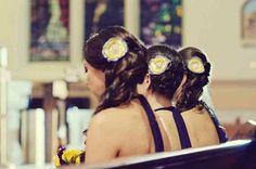 Hair by Angela @ Angela's Hair Design  Bridesmaids