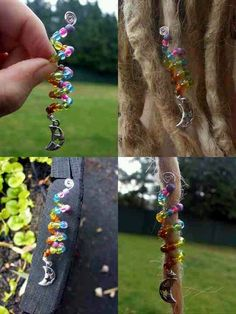 Beaded dread coil