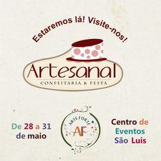 Oi Gente, Nós da Arte Forte Scrap estaremos neste incrível evento, que será realizado de 28 a 31 de maio no Centro de Eventos São Luis. Venha nos visitar!!! Não perca tempo e garanta já o seu ingresso.