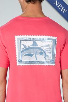 bad6fda5 Shop men's t shirts at Southern Tide to find the softest staple for your  closet. With long and short sleeve styles made out of cotton, these preppy  tees ...