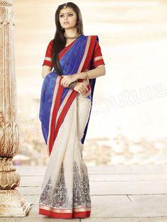 Latest Bhagalpuri Silk Saree Designs 2014 for Young Girls (9)