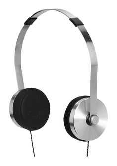 Nixon: The Apollo 3-Button Mic Headphones in Silver / Black | From Lisa Andersen's 2012 Nixon Holiday Gift Guide