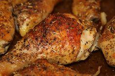 LCHF Low Carbs High Fat: Chicken Drumsticks - Recipe