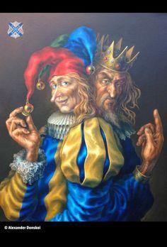 Power and Prosperity - Gallery Alexan Derdonskoi - Neo-Renaissance ALEXANDER DONSKOI || Artist