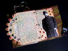 Octopus's Garden altered books and journals #journal