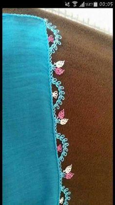 İğne oyası modeli İğne oyası - Turkish Needle Lace