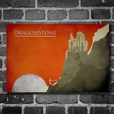 Game of Thrones poster movie art minimalist by ThePowerCosmic, $15.00
