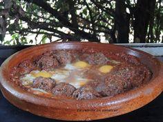 La cuisine en amateur de Maryline: Tajine de kefta aux oeufs