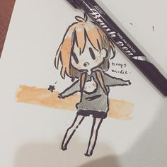 Brush pen :0