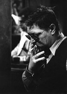 "Rainer Werner Fassbinder during the filming of ""Querelle: A Film About Jean Genet's 'Querelle de Brest'"""