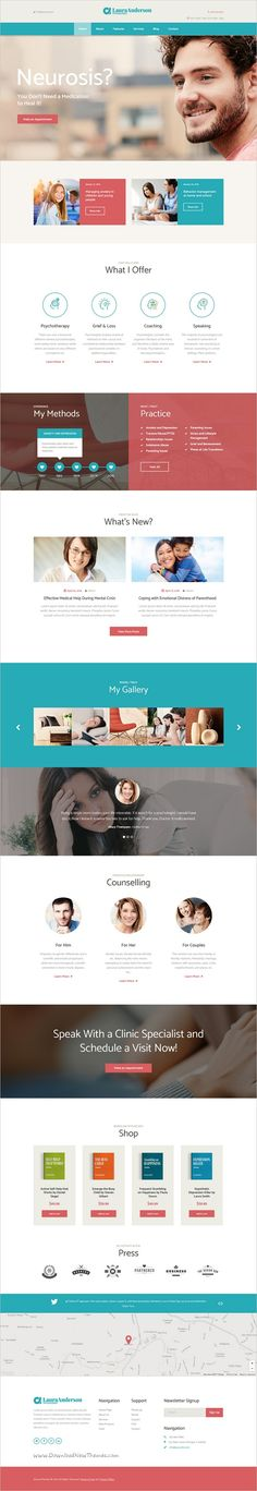 Laur Anderson is a wonderful 2in1 responsive WordPress Theme for Psychologist, #Psychotherapist, #Psychiatrist, Counseling & #Medical Website download now➩ https://themeforest.net/item/psychologist-psychotherapist-psychiatrist-counseling-medical-website-/16207011?ref=Datasata