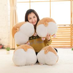 These adorable Corgi Butt pillows are on sale for 50% off! Free shipping on all orders.