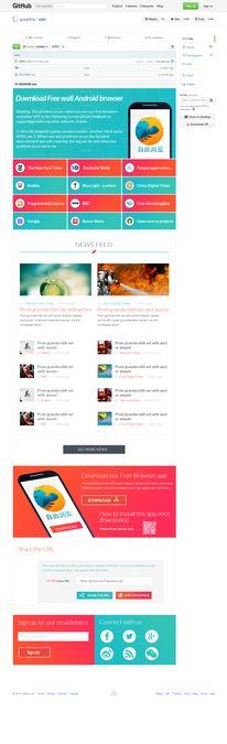 GitHub Page Design Challenge by NJ26