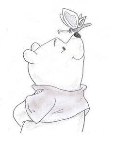 Winnie the Pooh by CameronHarperArt on DeviantAr .-Winnie the Pooh von CameronHarperArt auf DeviantAr… – Winnie the Pooh by CameronHarperArt on DeviantAr … – - Easy Disney Drawings, Disney Character Drawings, Disney Drawings Sketches, Cool Art Drawings, Animal Drawings, Drawing Sketches, Drawing Ideas, Drawing Disney, Disney Cartoon Drawings