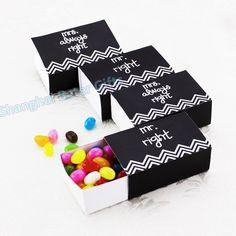 Noiva e noivo caixa de doces TH034 o DIY bebê de inspiração, Presentes