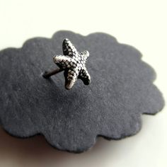 star fish nose stud-cute for summer!
