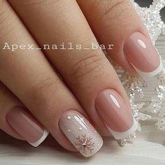 Chic Nails, Classy Nails, Stylish Nails, Manicure Nail Designs, Nail Manicure, Gel Nails, Manicures, White Acrylic Nails, Pink Nail Art