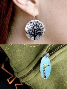 Make Your Own Shrinkable Photo Jewelry