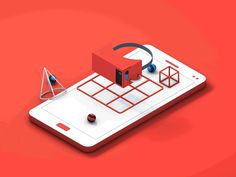 Google Mobile Arcade - The search challenge by Tiago Souza