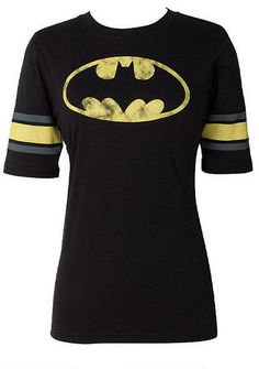 Batman Raglan - View All Tops - Tops - Clothing - Alloy Apparel