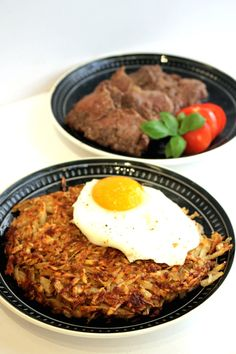 Delicious Swiss Roesti with raw Potatoes