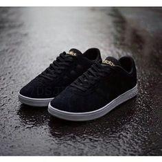 hot sale online e4f20 c0649 Hasil gambar untuk Adidas Neo Baseline Suede Black White