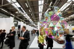 WSJ article: An Art-Fair Survival Guide by Kelly Crow, 3/6/14. With 200 fairs now jamming the art-world calendar, here's how to navigate the best shows.