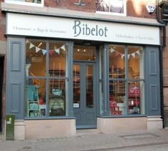 Bibelot in Leek, Staffordshire stockists of Cath Kidston, Sophie Allport plus many more. We run Craft Workshops and have a fab Haberdashery Room on our first floor. Skimming Stone, Purbeck Stone, Shop Fronts, Paint Schemes, Paris, Haberdashery, Perfect Place, Fun Crafts, New Homes
