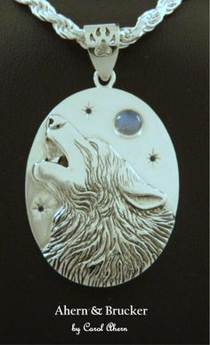 Welcome to our world of fine custom jewelry A small sampling of custom designs from our Forest Collection. Wolf Jewelry, Ear Jewelry, Animal Jewelry, Cute Jewelry, Jewelery, Diy Angel Wings, Cartier Necklace, Wolf Necklace, Beautiful Wolves