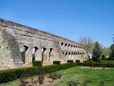 The Aqueduct los Milagros at Mérida