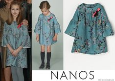 Princess Leonor wore Nanos dress from Winter Collection Children Style, Spanish Royalty, Spanish Royal Family, Queen Letizia, Kids Fashion, Womens Fashion, Mother And Child, Winter Collection, Apartments